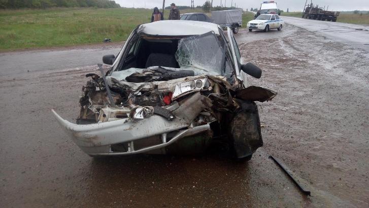 авария на трассе Ижевск-Ува