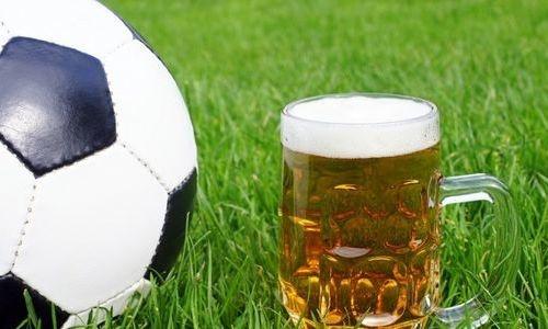 алкоголь футбол